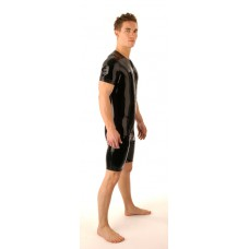 SR44 Latex Surf Suit Thru Zip Sleeveless