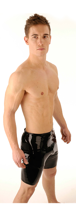 SR1 Latex Cycle Shorts