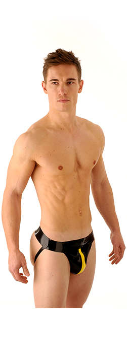 SR5 Latex Jockstrap Centre Piece